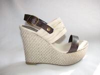Women's Soda Ferda-s Platform Shoes In Beige