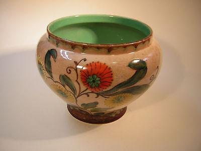 Gouda Ceramica Cachepot Grande Olanda Impianto Rack Stile Liberty