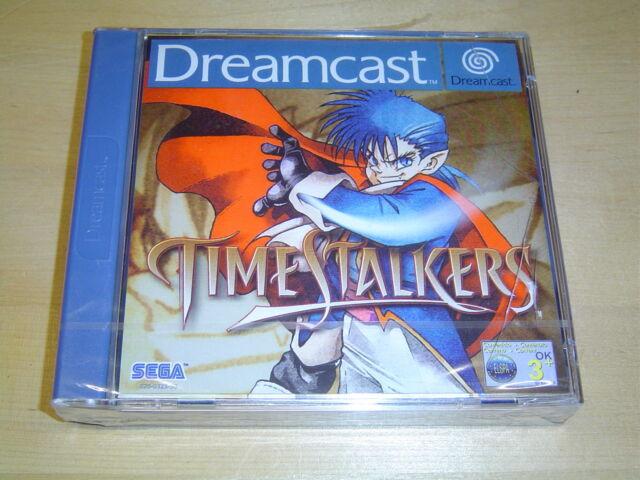 TIME STALKERS SEGA DREAMCAST PAL *NEW & SEALED*