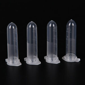 100pcs 2ml Micro Centrifuge Tube Vial Clear Plastic Vials Container Snap Cap  _T 601404868304