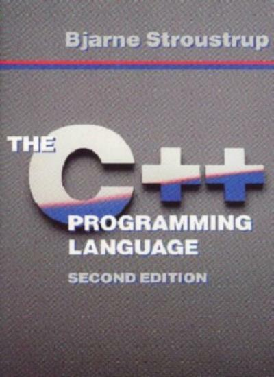 The C++ Programming Language By Bjarne Stroustrup. 9780201539929