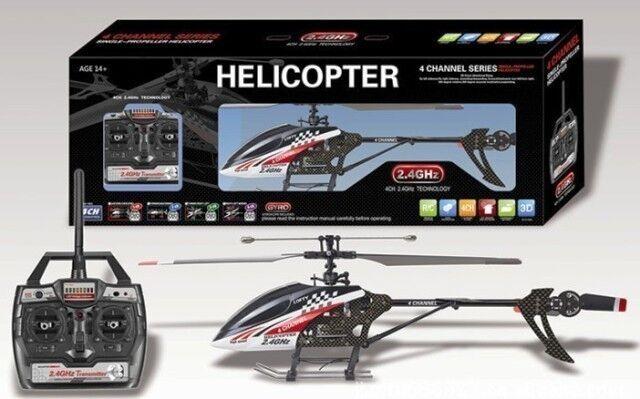 Hubschrauber R/c 2,4 ghz Single-Klinge 4 Kanäle + gyroscopio FX-059 29012