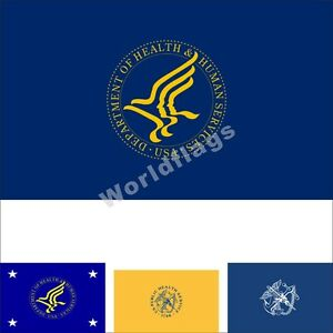 Details about US Health and Human Services Department Flag 3X5FT Public  Health Secretary