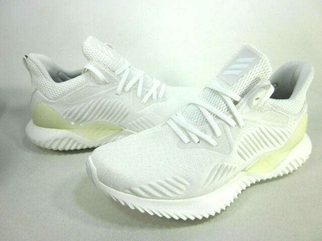 ADIDAS MEN'S ALPHABOUNCE BEYOND M RUNNING SHOES DB1125 DYED WHITE, SIZE 11.5