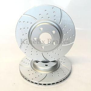Delante-Kinetix-Discos-De-Freno-Ranurados-tx085-320mm-diametro-PARA-EL-ENFOQUE