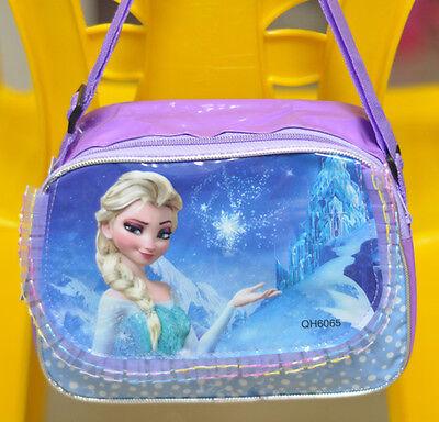Blue Snow FROZEN Disney Elsa Princess Girls Kid Messanger Shoulder Bag Handbag