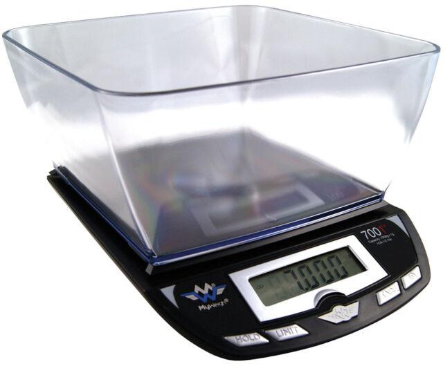 Briefwaage My Weigh 7001dx Schwarz 7 Kg X 1 G Digitale Kuchenwaage