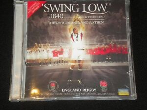 Swing-Low-UB40-ft-United-Colours-Of-Sound-Official-England-Anthem-CD-Album