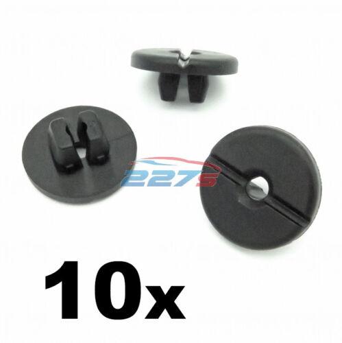 ESPANSIONE 10x DADI//CONTRODADI//Vite Occhielli tagliare clip-VAUXHALL 90506890