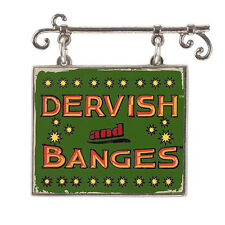 Universal Studios Harry Potter Dervish And Banges Sign Dangle Pin New with Card
