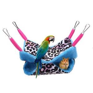 Double-Layer-Pet-Rat-Rabbit-Ferret-Chinchilla-Cat-Hammock-Bed-Cover-Bag-Blankets