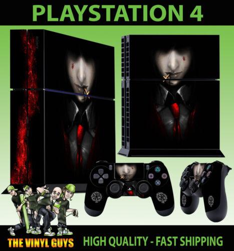 PS4 PLAYSTATION 4 CONSOLE STICKER ALUCARD HELLSING 001 VAMPIRE SKIN 2 PAD SKIN