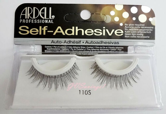Ardell SELF-ADHESIVE #110S False Eyelashes Fake Lashes Natural Fashion 110