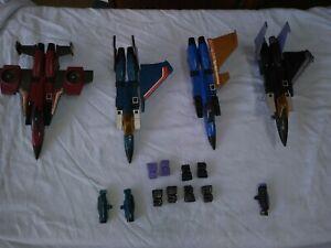 G1 Transformers Jet Lot 1980s Hands Fist Missile Launchers Large Parts weapons