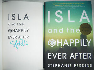 SIGNED-1st-Printing-Ed-Isla-and-the-Happily-Ever-After-Stephanie-Perkins-hx