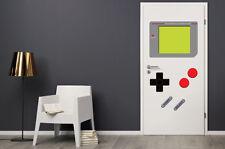 Dry Erase Dorm Room Door Gamer Decals Man Cave Retro Vintage Stickers GAME BOY