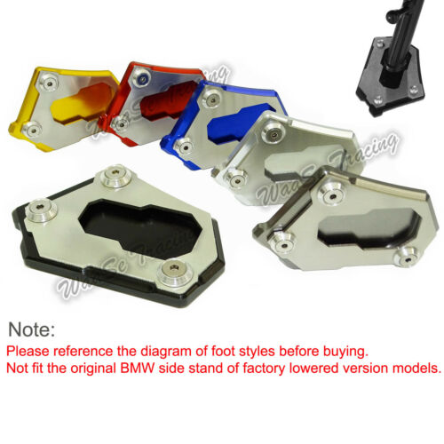 Kickstand Side Stand Extension Plate For 2013-2018 BMW R1200GS ADV Water Cooled