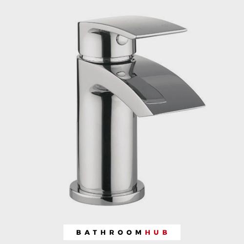 Écoulement salle de bain Mono Mélangeur lavabo chrome -