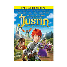 Justin and the Knights of Valor DVD /Digital Copy Dove Approved Antonio Banderas
