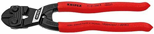 KNIPEX Tools 71 01 200 R Cobolt High Leverage Compact Fencing Bolt Cutters for sale online