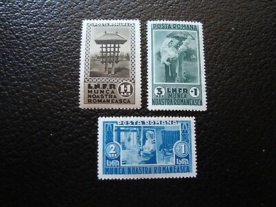 LiebenswüRdig Rumänien Briefmarke Yvert/tellier N° 468 A 470 N Mnh col1