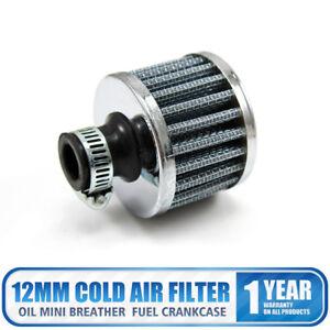 12mm-Filtro-de-Entrada-de-Aire-Gris-Filtro-para-Ventilacion-Turbo-Motor-de-Coch