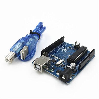 UNO R3 ATmega328P Development Board for Arduino Compatible + Free USB Cable