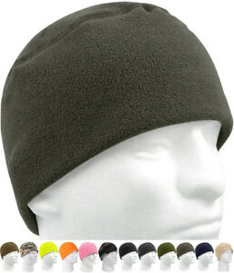 1744545dcf Details about Military Polar Fleece Beanie Watch Cap Cold Weather Skull  Warm Winter Hat