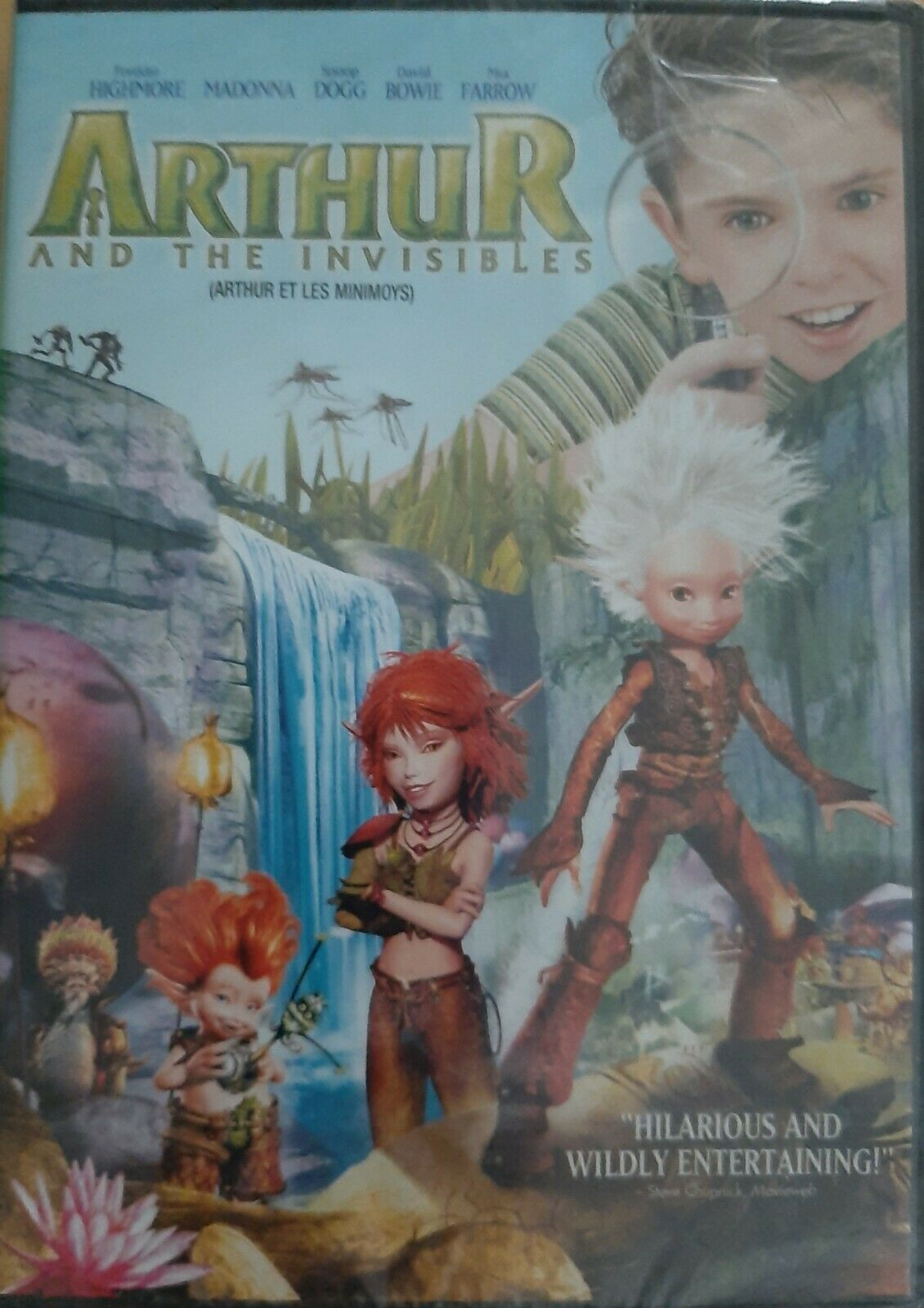 Arthur And The Invisibles Dvd 2007 Canadian For Sale Online Ebay