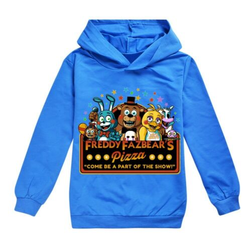 2019 new Five nights at Freddy fashion casual boy long sleeve hoodie clothes