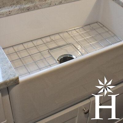 "30"" 30 inch Fireclay Farm Farmhouse Apron Kitchen Sink WHITE - A Grade Quality"