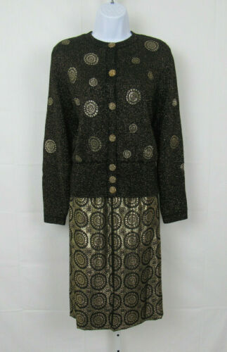 VTG 1980s UMI COLLECTIONS BY ANNE CRIMMINS KNIT LG