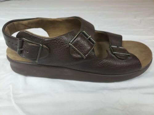 SAS Men's Sandals Tripad Comfort Brown Adjustable