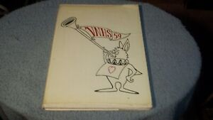 1959-VAN-NUYS-HIGH-SCHOOL-YEARBOOK-amp-EXTRA-PHOTO-VAN-NUYS-CA-STACY-KEACH-SENIOR