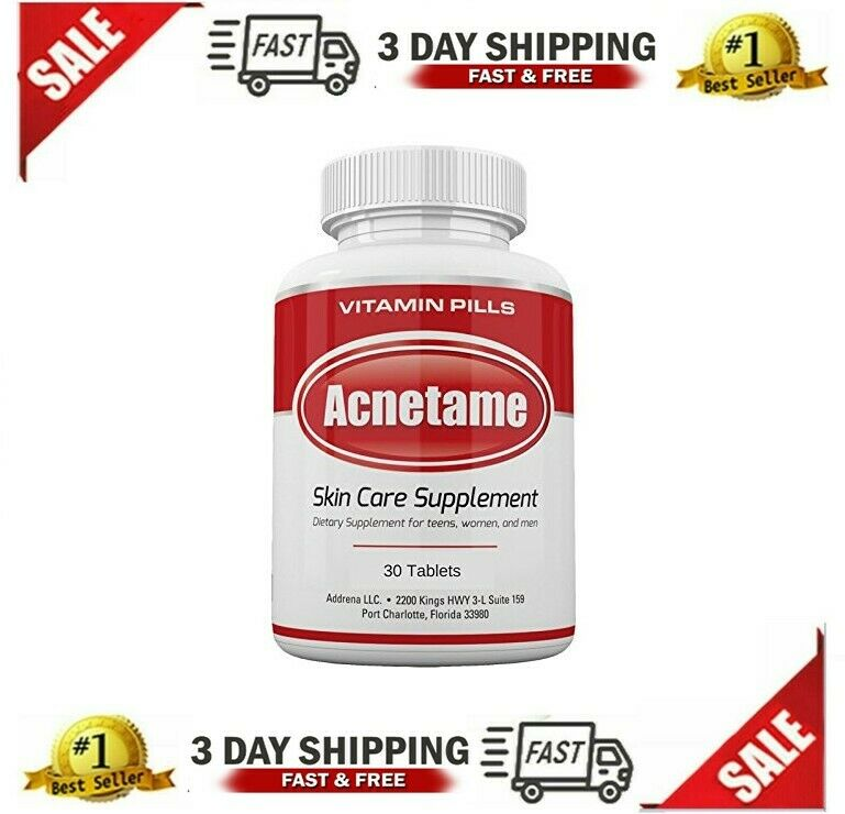 Vitamin Pills Acnetame Skin Care Supplements For Acne Treatment