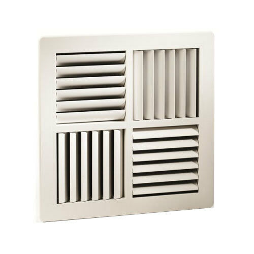 Square Ceiling Vent Outlet 4way Mdo Ducted Heating 270x270mm Facesize Ebay