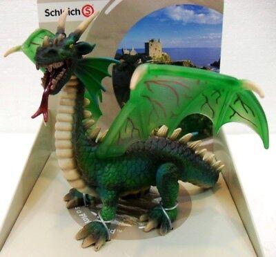 Schleich 70033 Il Drago Verde Mondo Dei Medioevali 14x18x14 H Vendite Economiche
