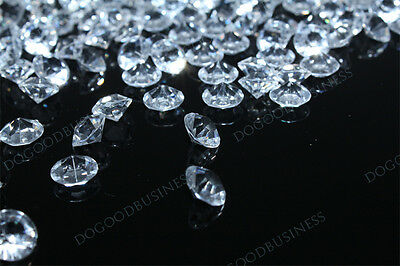 5000 Wedding Table Decoration Diamond Crystal Confetti free shipping