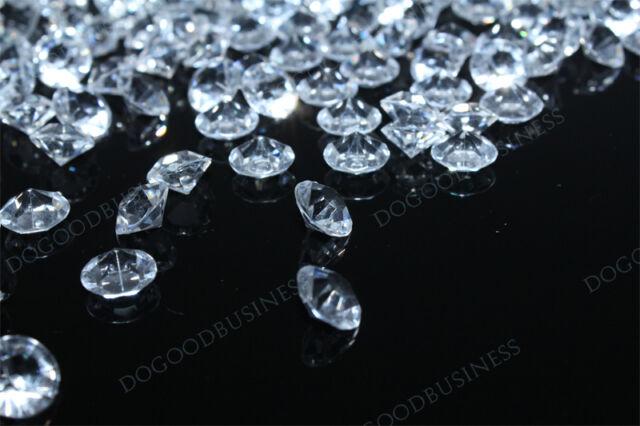 5000 Wedding Table Decoration Diamond Crystal Confetti free shipping