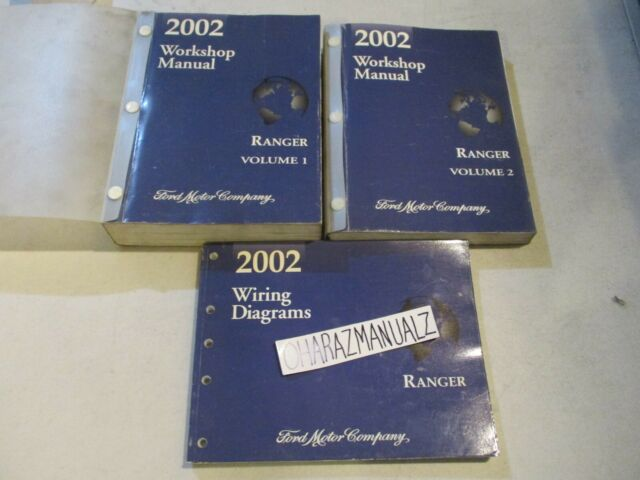 2002 Ford Ranger Wiring Diagrams  U0026 Service Manuals Manual Oem