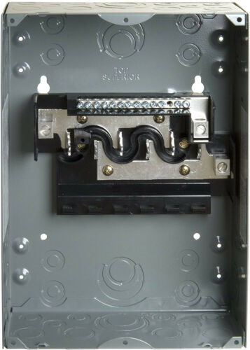 Main Lug Load Center 6-Space 12-Circuit 100A Indoor Surface Mount With Cover