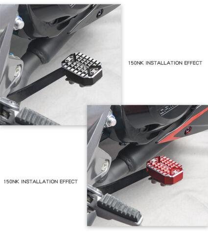 Motorcycle Rear Brake Pedal Widening Non-slip Footpegs Footrests Foot Rest Pegs