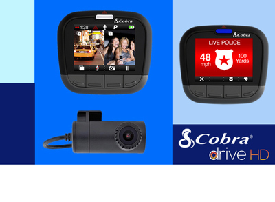 25% to 50% off Cobra Dashcams and Actioncams