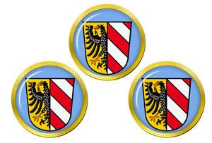 Nuremberg-Allemagne-Marqueurs-de-Balles-de-Golf