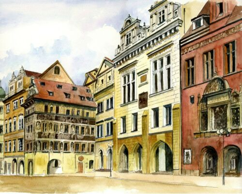 - Architecture 3 Prague Collection Van-Go Paint-By-Number Kit