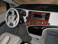Toyota Sienna 2011-2013 Dash Trim Kit Basic Kit 26 Pcs With Nav System