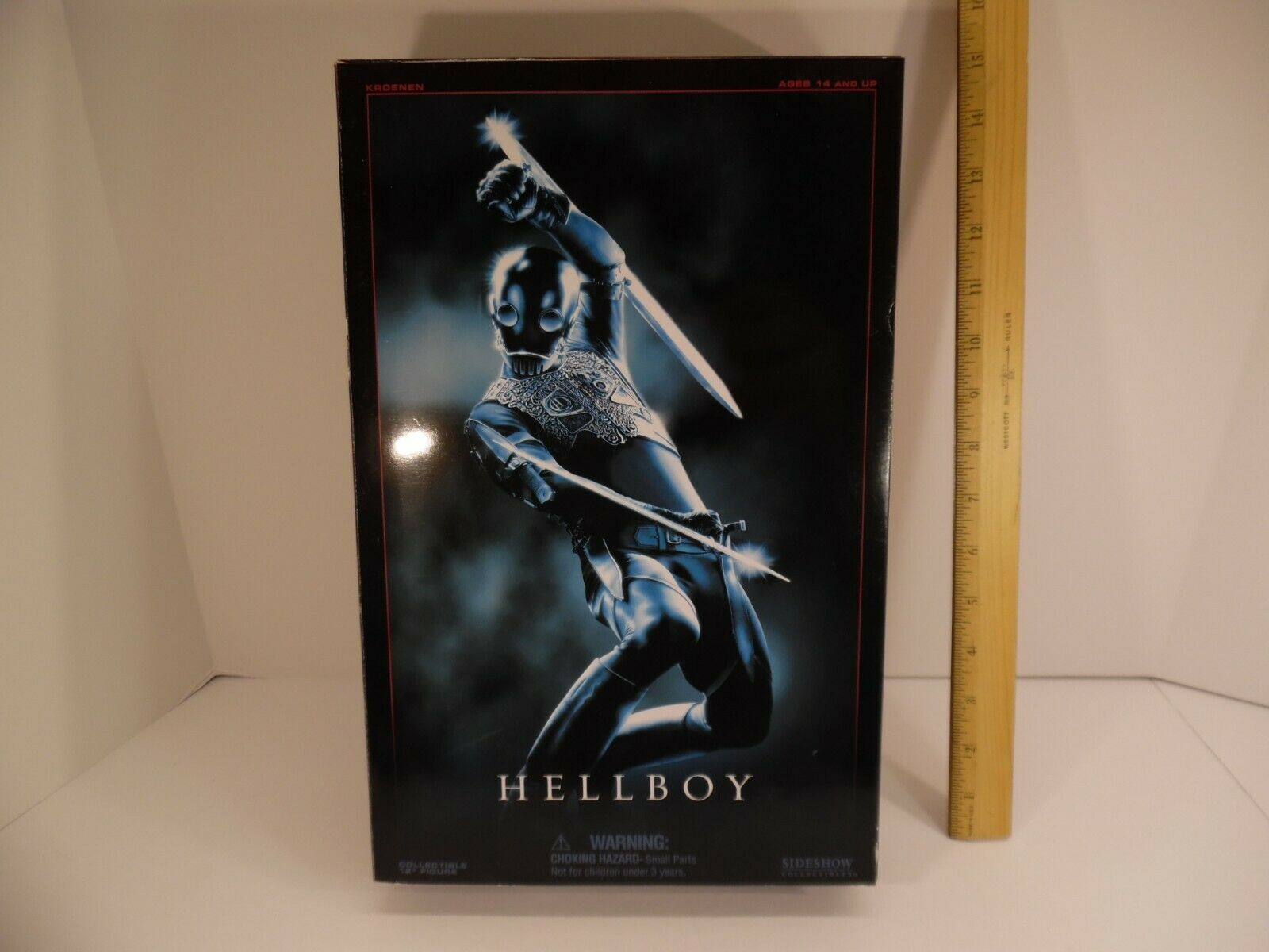 "Sideshow Hellboy Kroenen Final Battle Exclusive 1/6 Scale Figure 12"" Doll on eBay thumbnail"