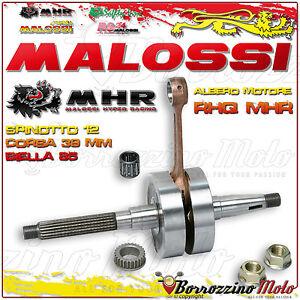 Intelligent Malossi 539212 Vilebrequin Rhq Mhr Axe De Piston Ø 12 Gilera Runner 50 2t Lc