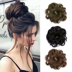 As-Human-Real-Natural-Curly-Messy-Bun-Hair-Piece-Scrunchie-Hair-Extensions-US