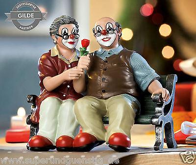 Gilde Clowns Clown - Das Jubelpaar limitierte Sonderedition Mitgliedsfigur 10196